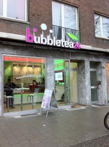AUßenansicht Bubbleteabar